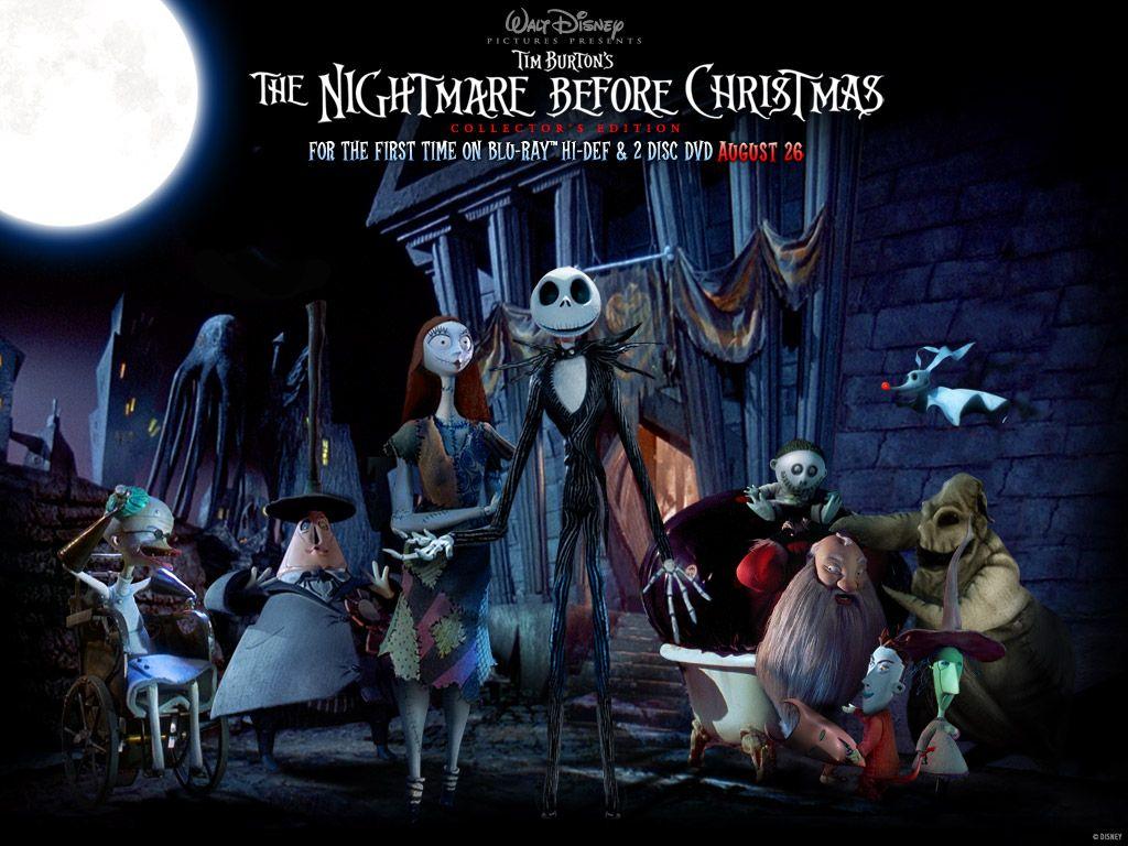 Tim Burton Nightmare Before Christmas Characters Nightmare Before Christmas Wallpaper Nightmare Before Christmas