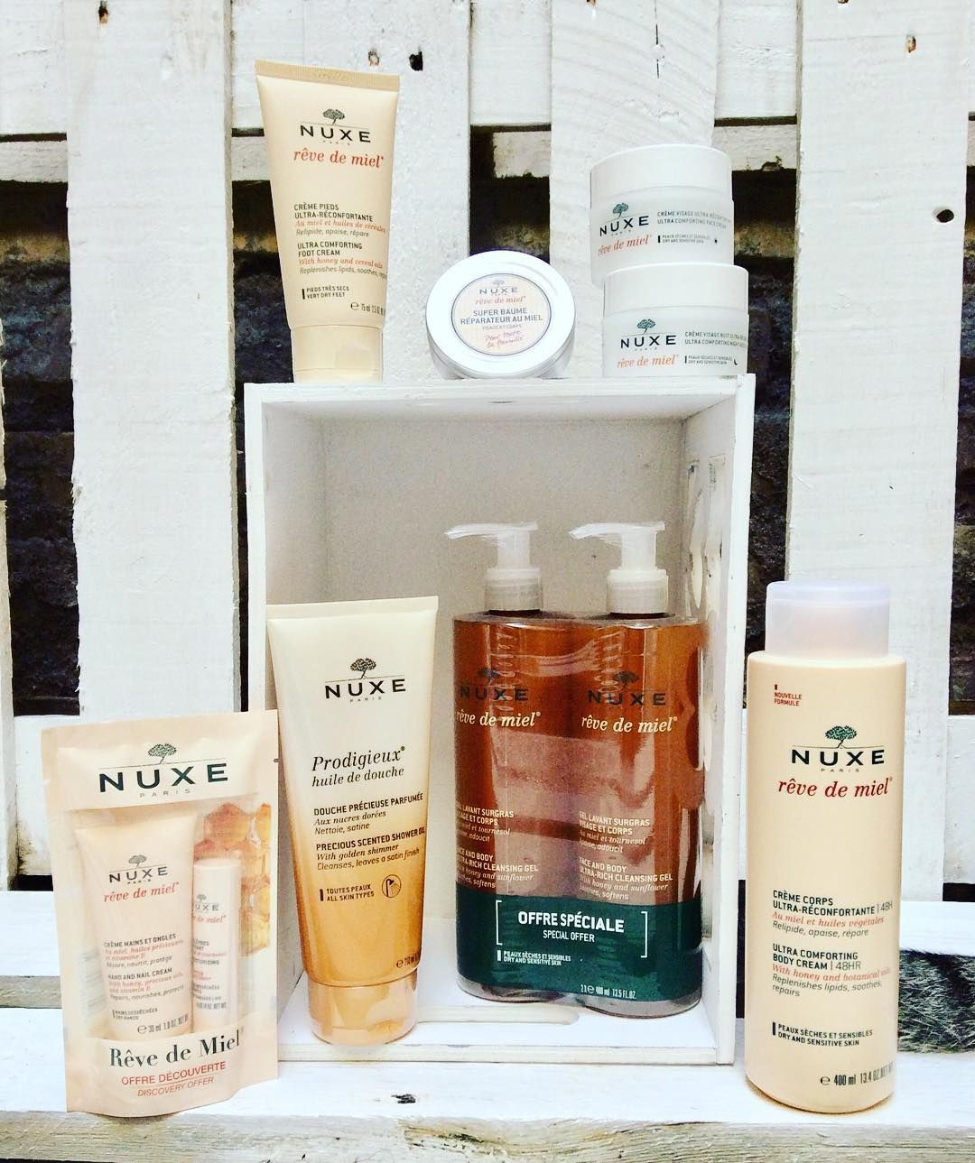 Photo of Who doesn't know the @Nuxe Reve de Miel line? Absolute …