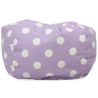 Big Joe Classic Bean Bag Chair Lavender Polka Dot