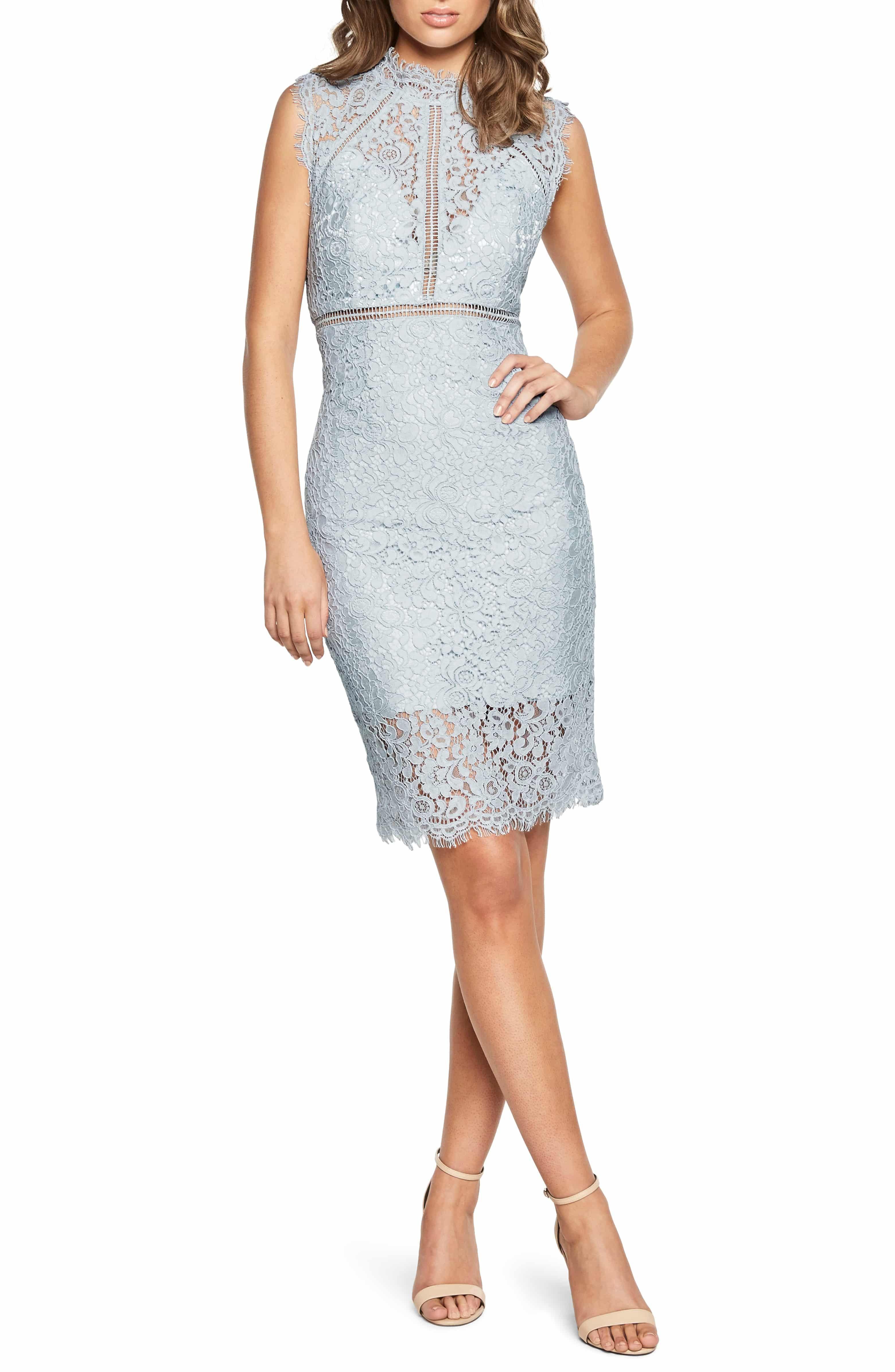 Bardot Lace Sheath Cocktail Dress Nordstrom Lace Sheath Dress Summer Cocktail Dress Sheath Dress [ 4784 x 3120 Pixel ]