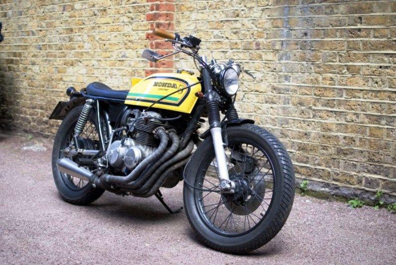 Honda CB400 Four brat. | Motos de alto cilindraje ...