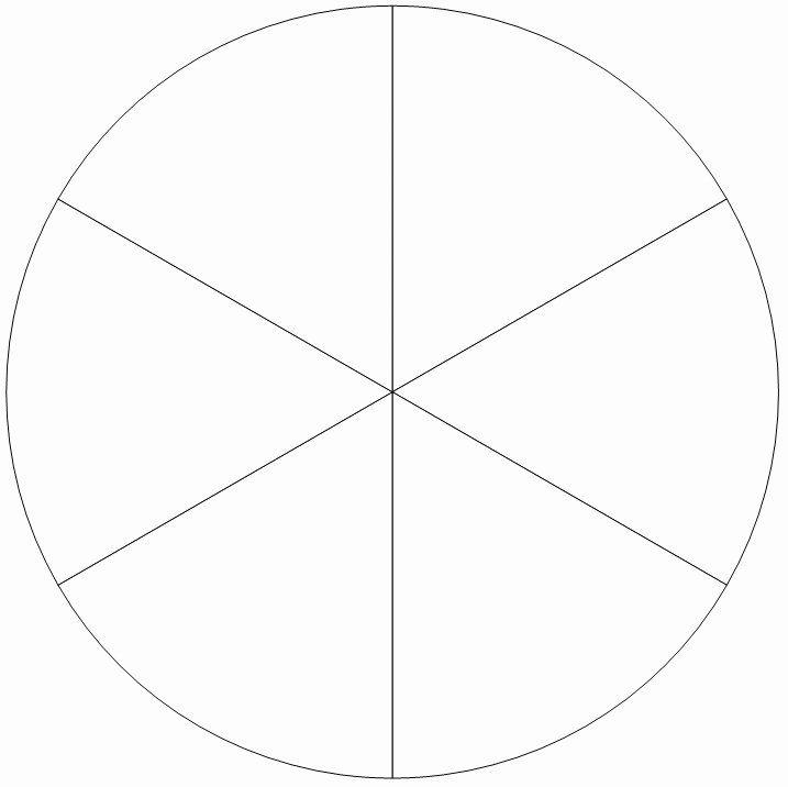 Best Of Blank Pie Chart Template In 2020