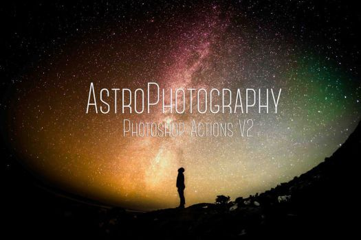 Astrophotography Photoshop Actions Free Download V by symufa