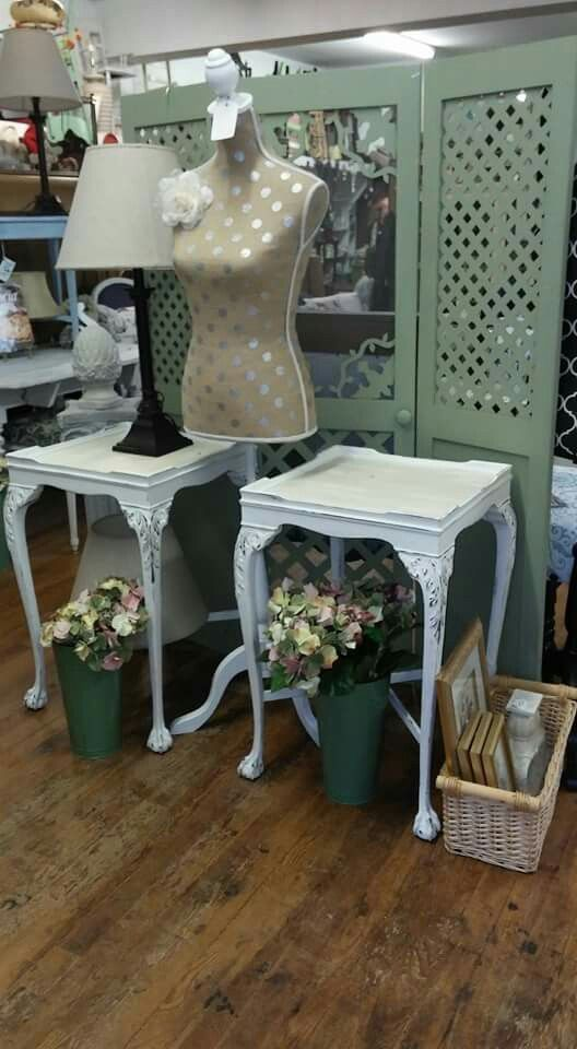Redesigned side tables! For sale at Paula's Unique Consignment, Plantsville, CT. 06479