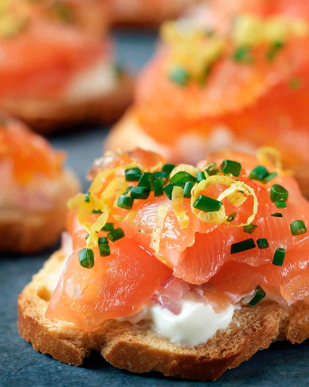 CitrusCured Salmon Recipe in 2020 Food, Appetizer