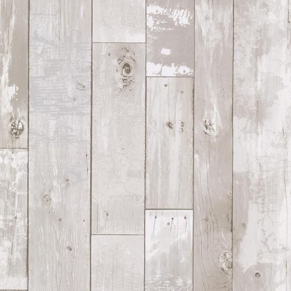 Heim White Distressed Wood Panel Wallpaper 347 20131 Would Love To Have This In