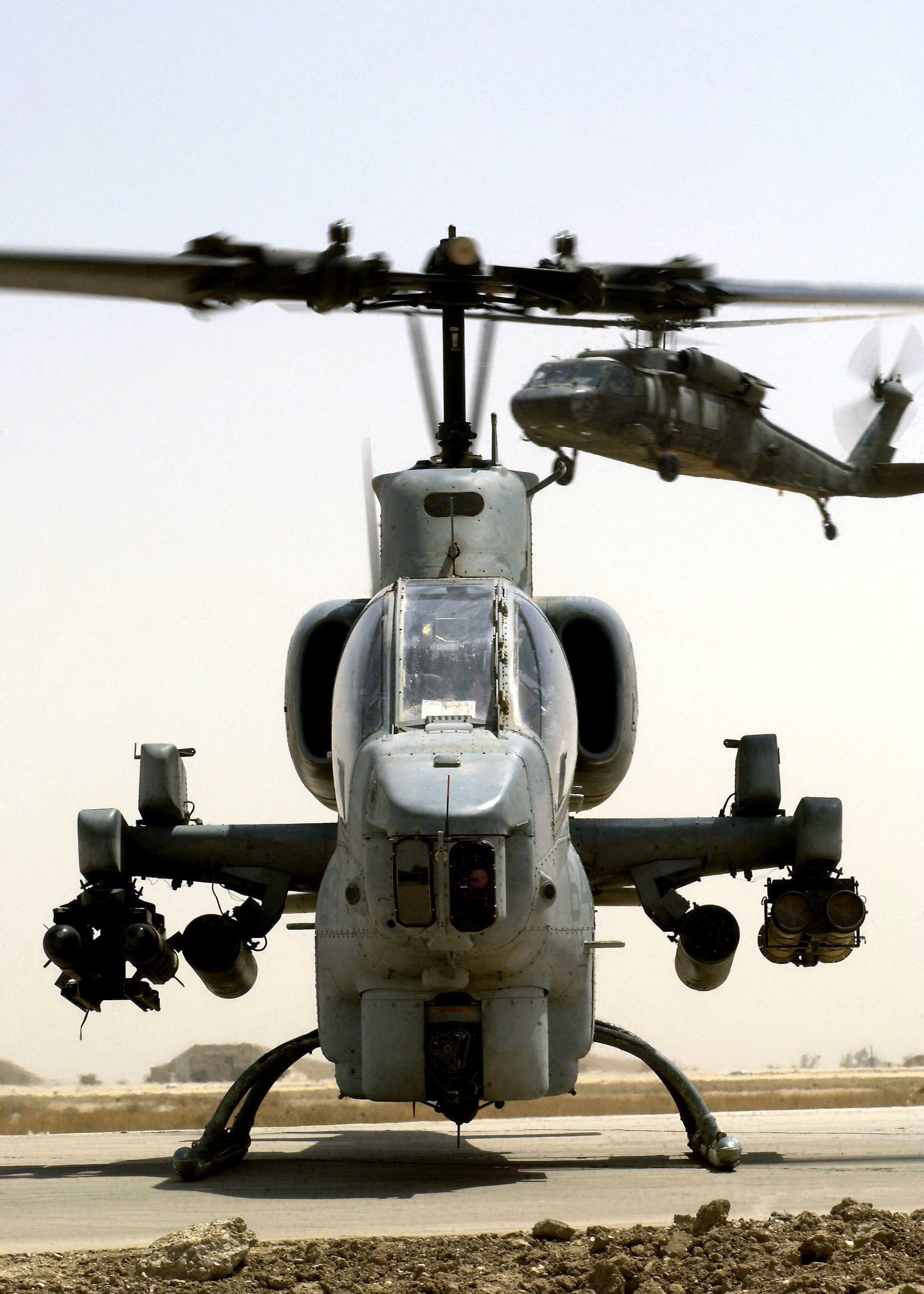 Aviones Caza y de Ataque: Bell AH-1 SuperCobra Tipo Helicóptero de ...