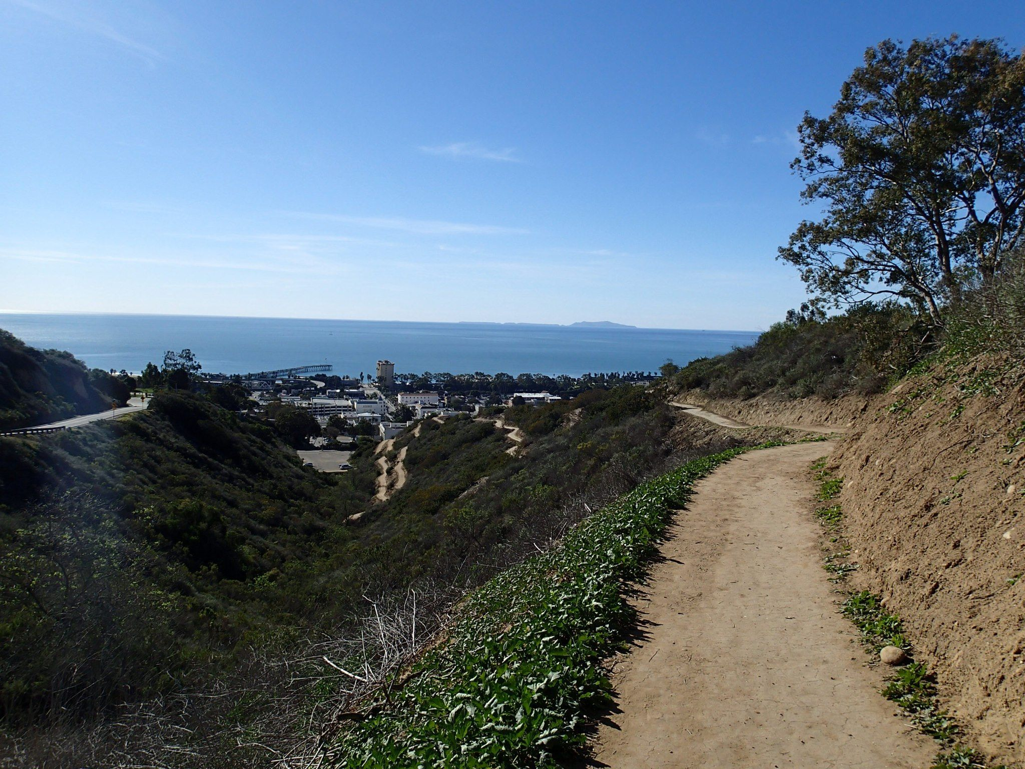 New trail in Ventura. Starts behind City Hall, 501 Poli St., Ventura, CA 93001