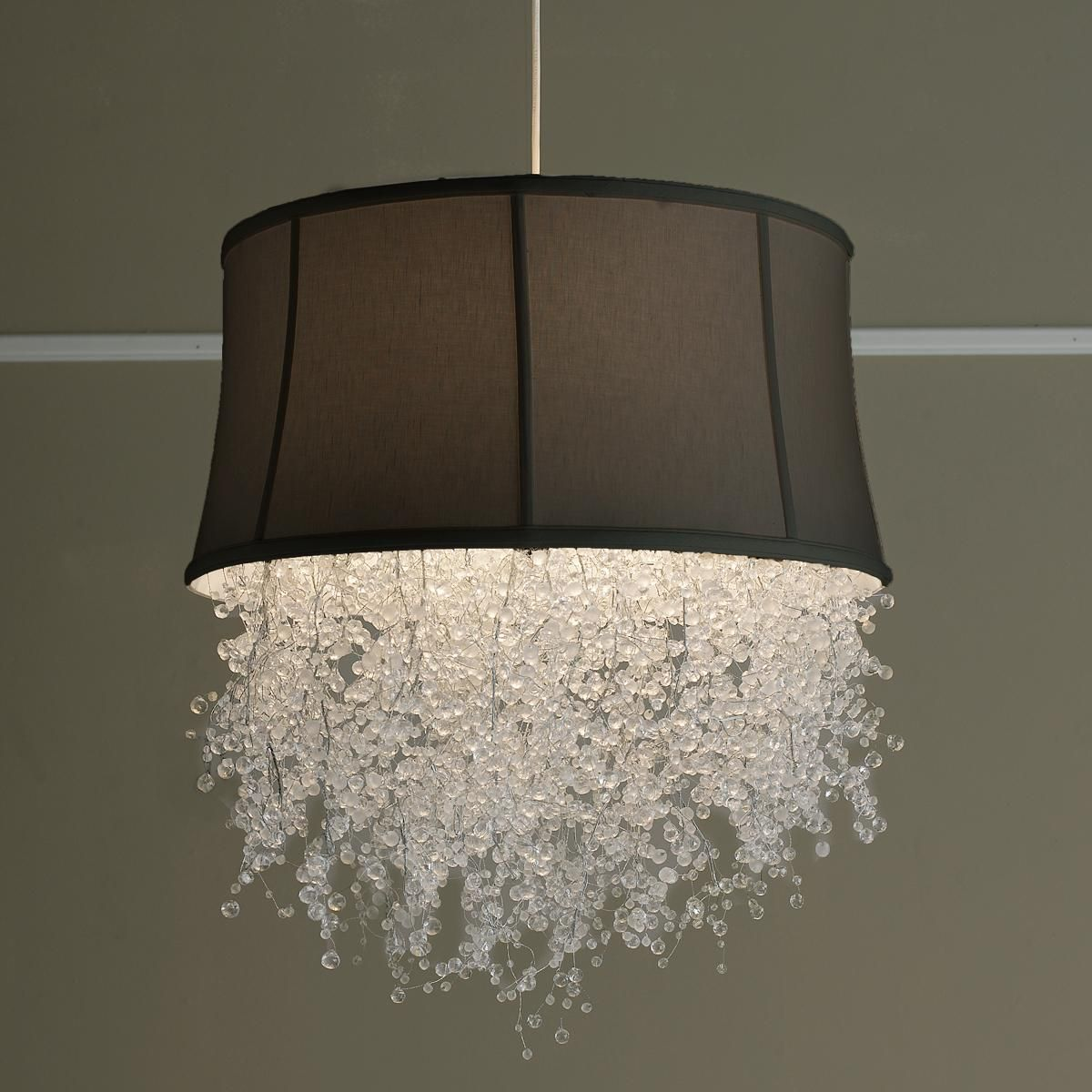 for top chandeliers white mini shade prime light gray grey lampshade vision chandelier shades lamp small