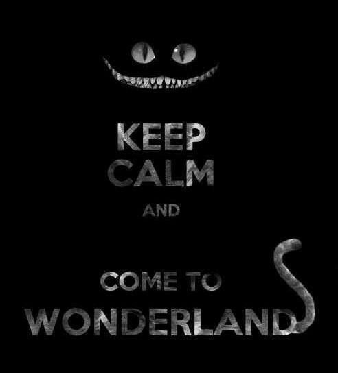 I LOVE wonderland and the cheshire cat is the best character ever.