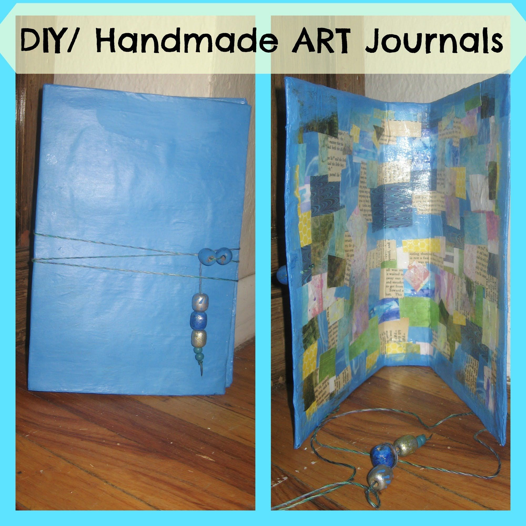 How to make a diy handmade art journal from recycled cereal boxes how to make a diy handmade art journal from recycled cereal boxes mixe ccuart Image collections