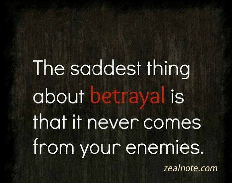 sad quotes about betrayal
