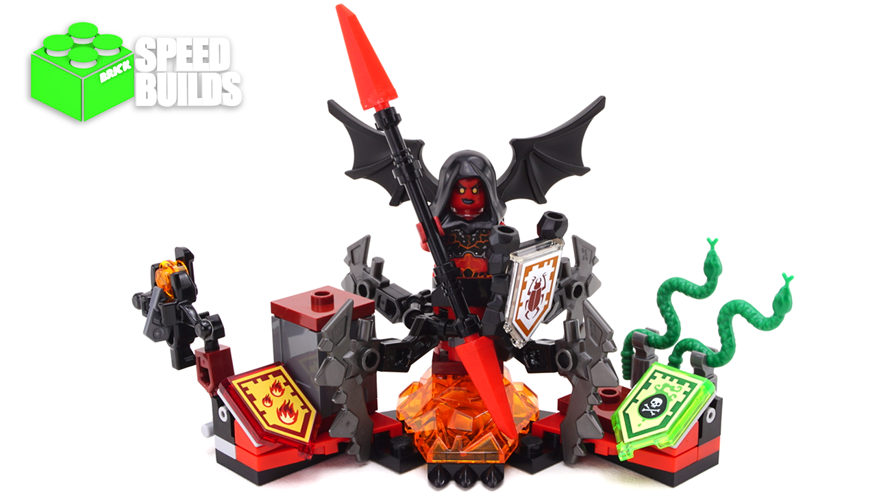 Nexo Knights Steinmonster Ausmalbilder : Lego Nexo Knights Ultimate Lavaria Lego 70335 Speed Build Lego