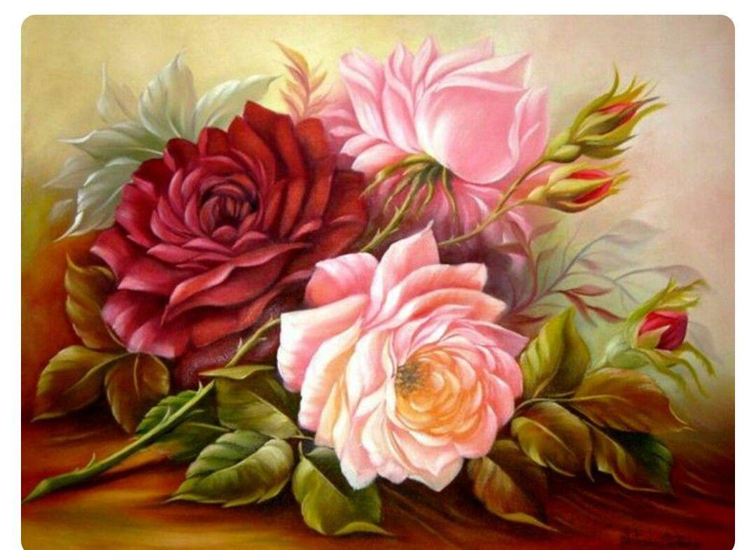 Pin By Esra Bakrseren On Yal Boya Pinterest Flowers And Decoupage