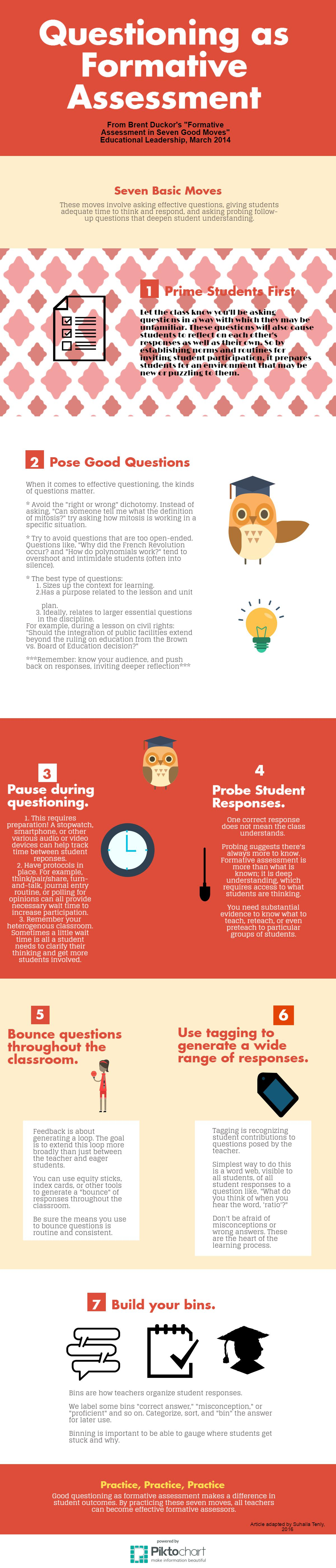 Seven Basic Moves in Questioning