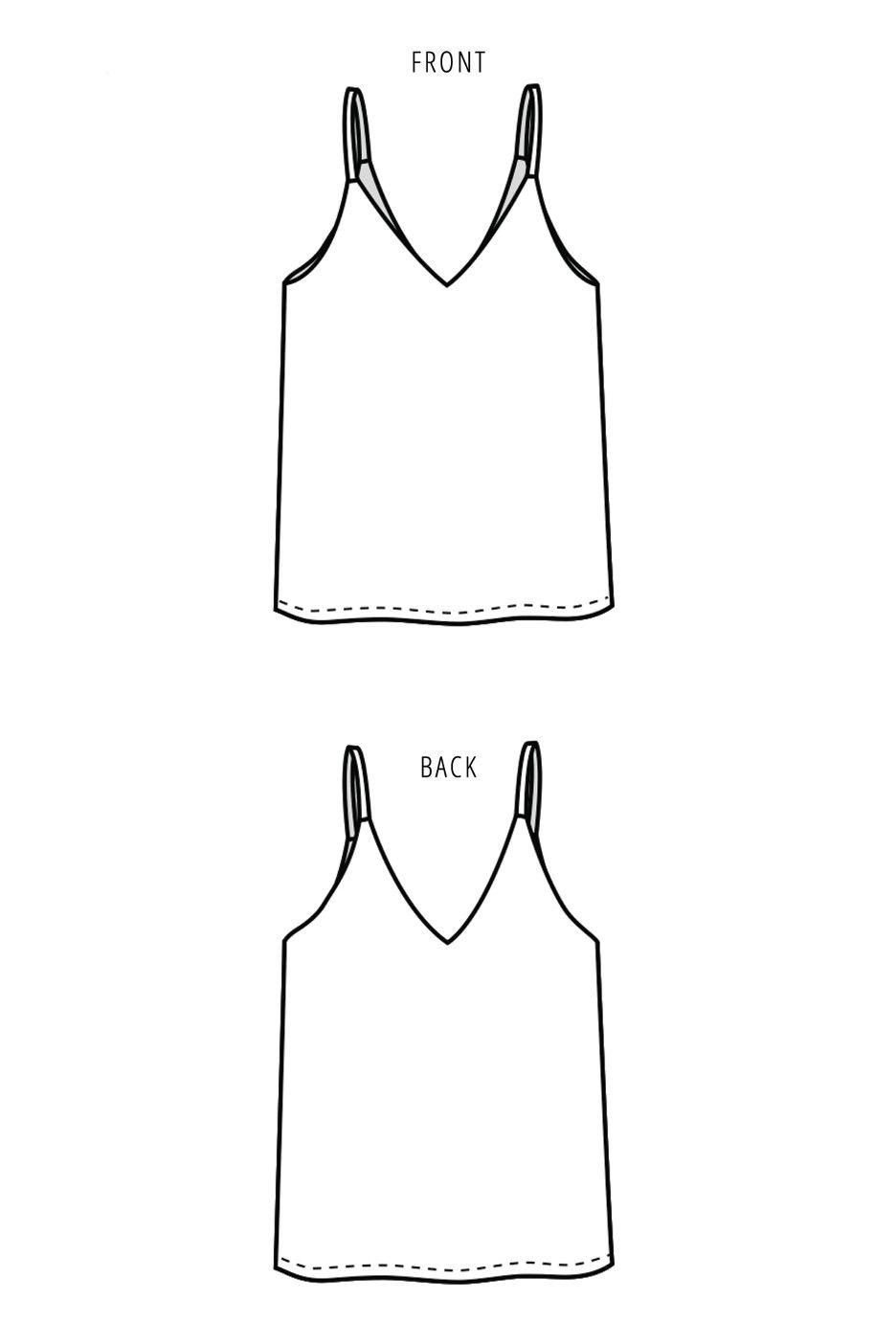 Ogden Cami Sewing Pattern by True Bias | Irgendwann, Nadel und ...