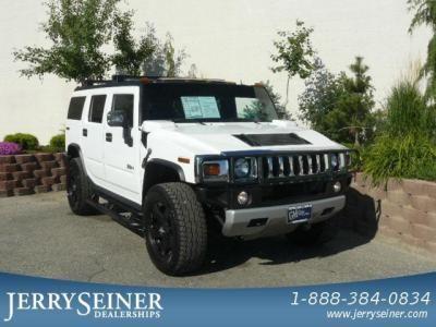 USED 2009 HUMMER H2 SUV_Birch White_Seiner Price:$54,132