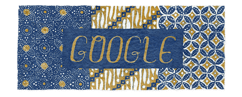 Hari Batik Nasional 2019 Coretan, Doodle, Seni