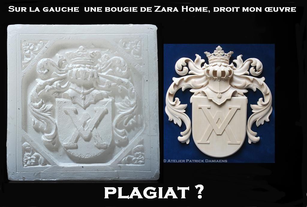 Bougie Zara Home | Inditex | Plagiat de Zara Home (Inditex) | ZARA
