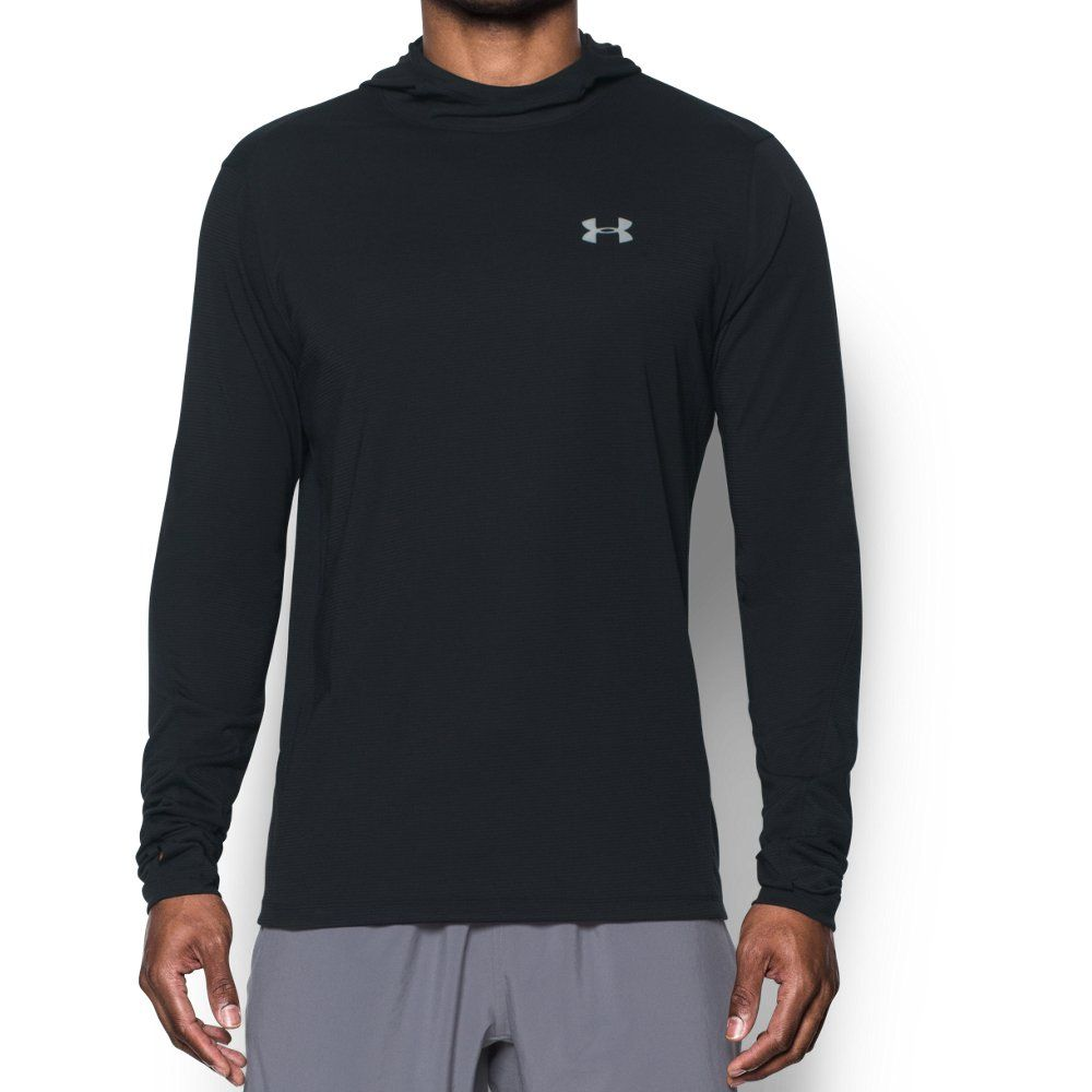 UNDER ARMOUR SHIRTS AUTHENTIC MEN LONG SLEEVE PULLOVER THREADBORNE or TECH LARGE
