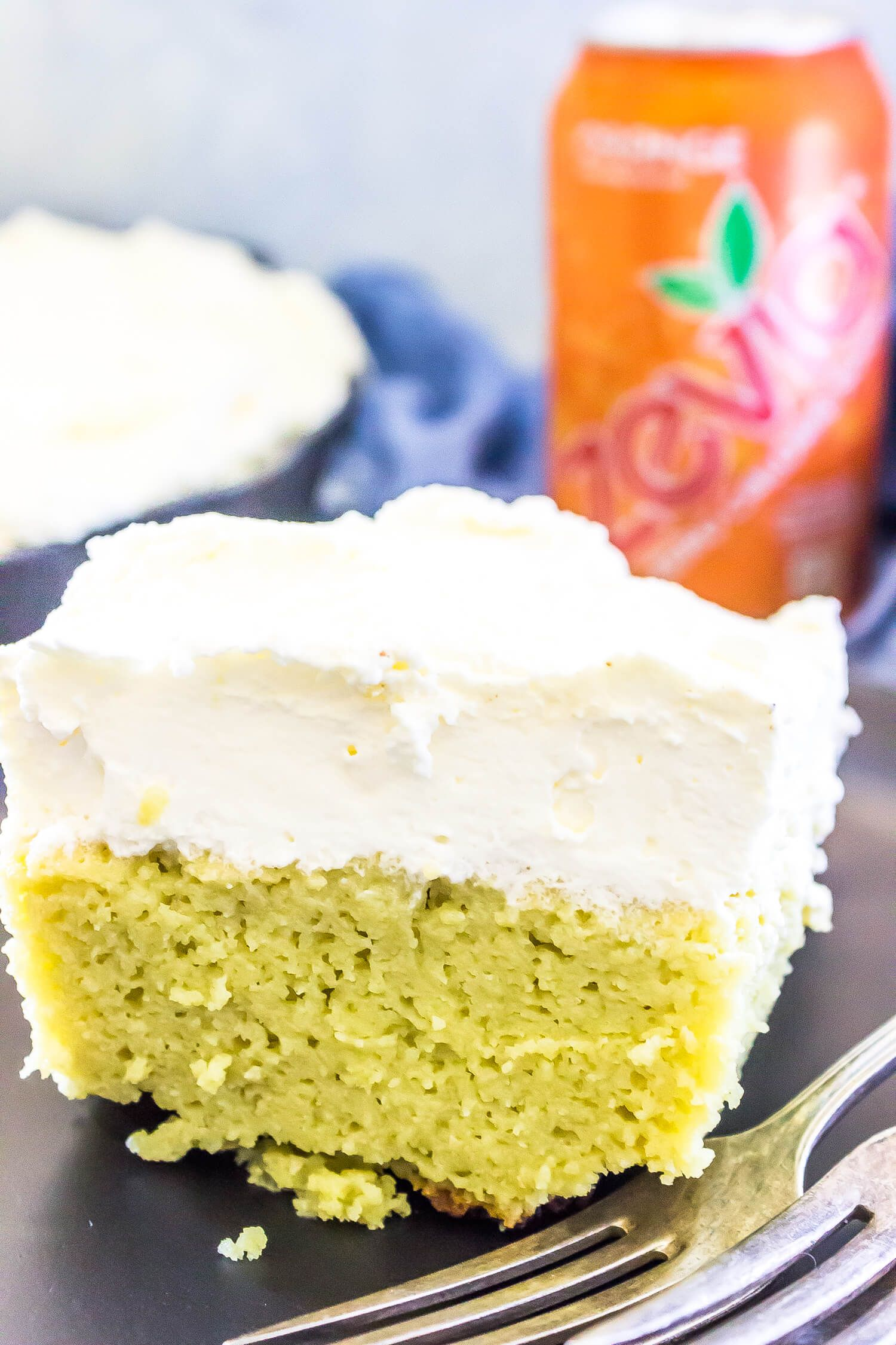 Keto orange poke cake cast iron keto savoury cake low