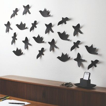 Umbra Loft 21 Piece Flock Bird Wall