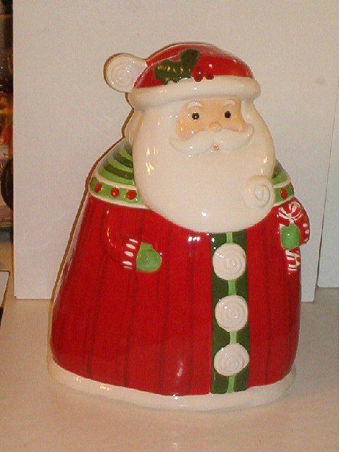 Santa Cookie Jar by Grasslands Road