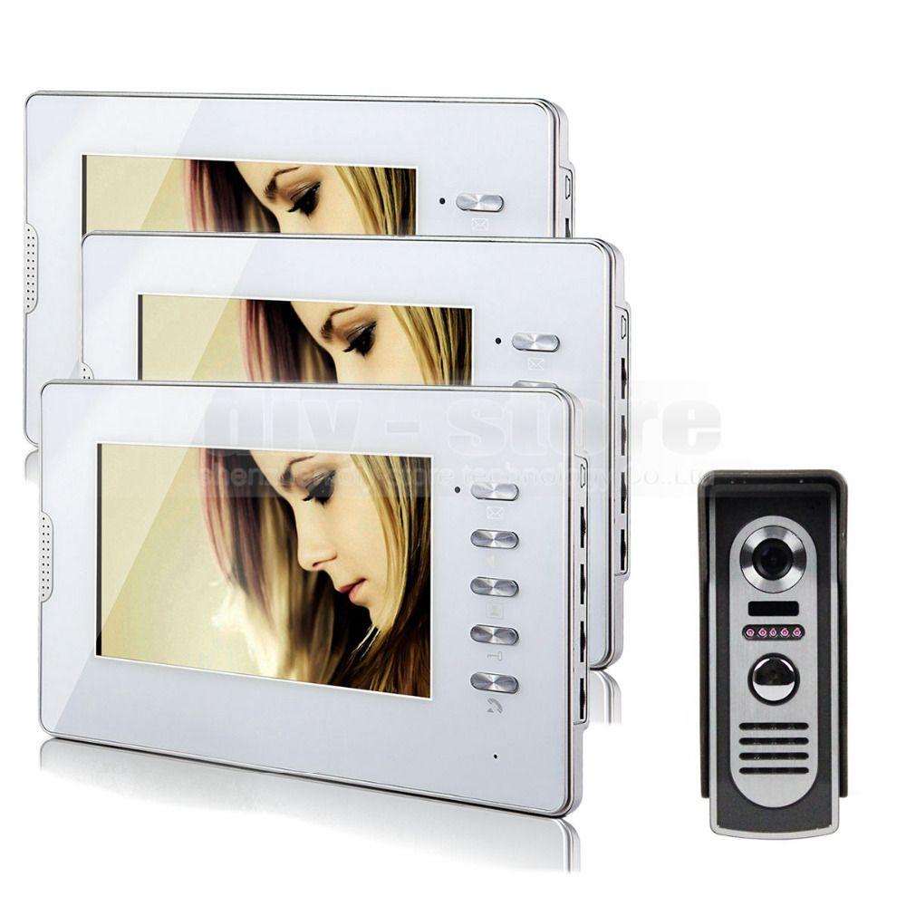 Diysecur 600tvl 7 Wired Video Door Phone Audio Visual Intercom