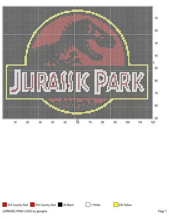 Jurassic Park | dinos y dragones | Kreuzstich, Bügelperlen y Kreuze