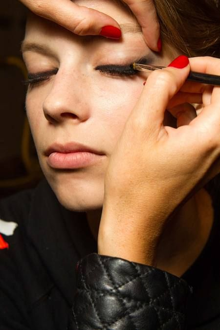 Armani Privé Fall 2014 Couture Beauty