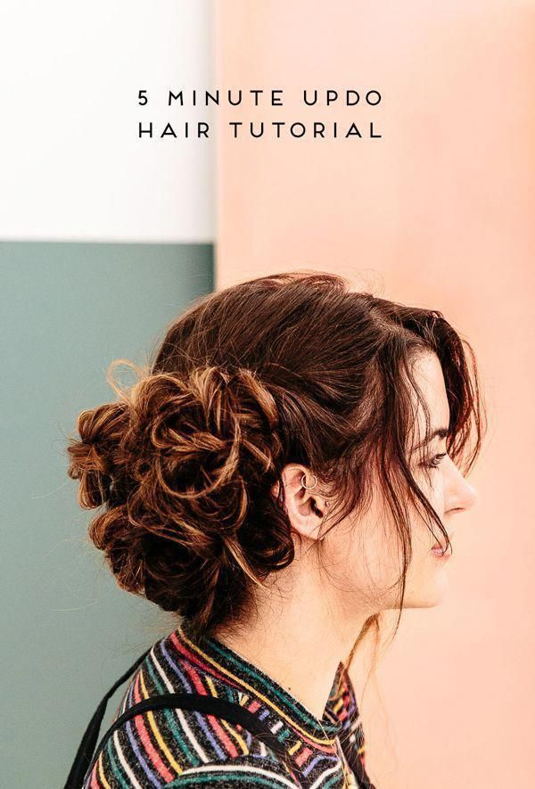 easy hairstyles for medium hair  ...