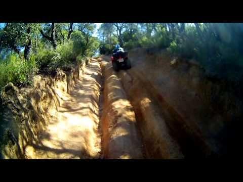 excursiones en quad PLATJA D'ARO 10/04/2014 (+lista de reproducción) PETER 66ans a l'aise en quad pourquoi pas vous?? www.quadescapadecatalunya.com