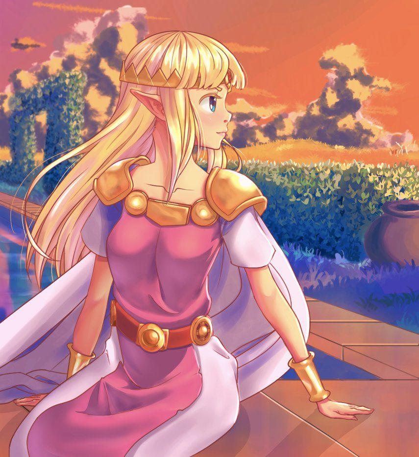 A Link Between Worlds Princess Zelda By Arurein With Images