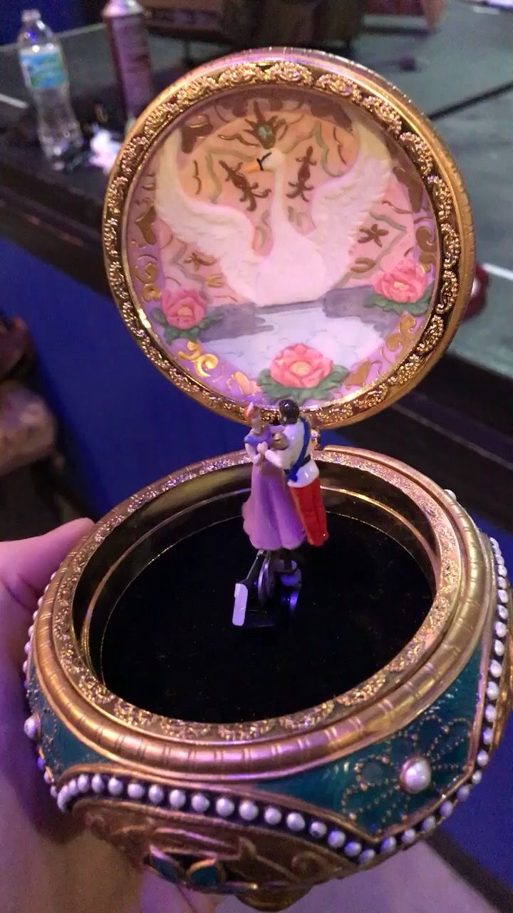 The music box used in Anastasia on Broadway Anastasia Pinterest