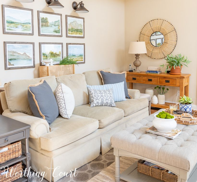 Family Room Makeover Reveal Just In Time For Spring Family Room