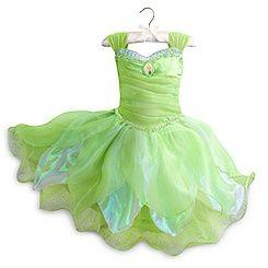 Disney Store Tinker Bell Light up Costume Retired NWT girls sz 13