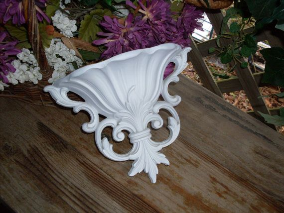Shabby Chic wall planter by SummersBreeze on Etsy, $14.99
