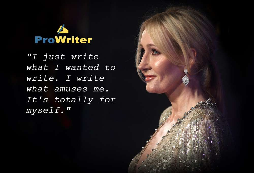 thesiss on j.k. rowling