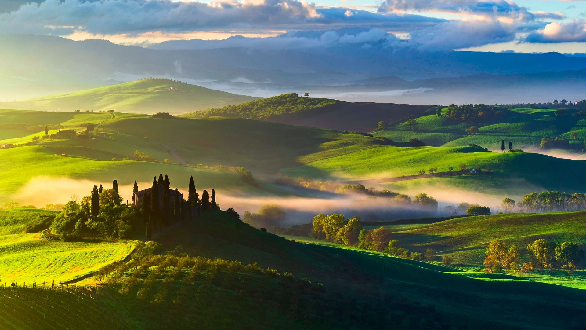 Full Hd 1080p Italy Wallpapers Hd Desktop Backgrounds 1920x1080 Landscape Wallpaper Italy Landscape Nature Wallpaper