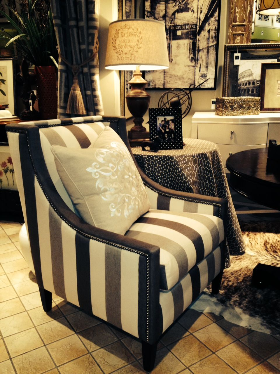 striped chair - Tassels Louisville KY | Quirky Style | Pinterest ...