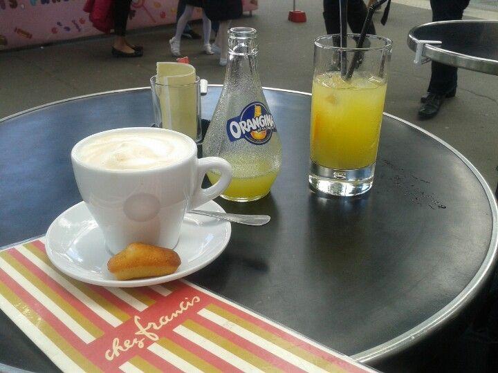 Chez Francis Cappuccino Coffee Shop Coffee Kaffee