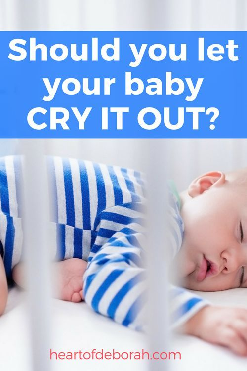 My Baby Won't Sleep: Should You Let Your Baby Cry It Out ...