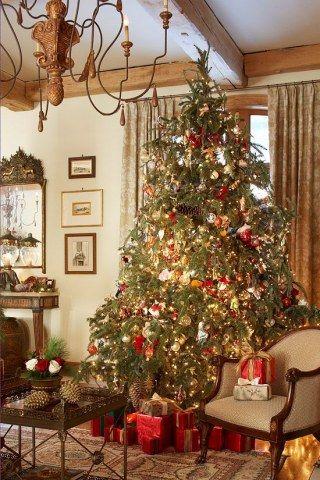 welche farbe ist trend die sch nsten weihnachtsb ume der saison weihnachtsmann weihnachten. Black Bedroom Furniture Sets. Home Design Ideas