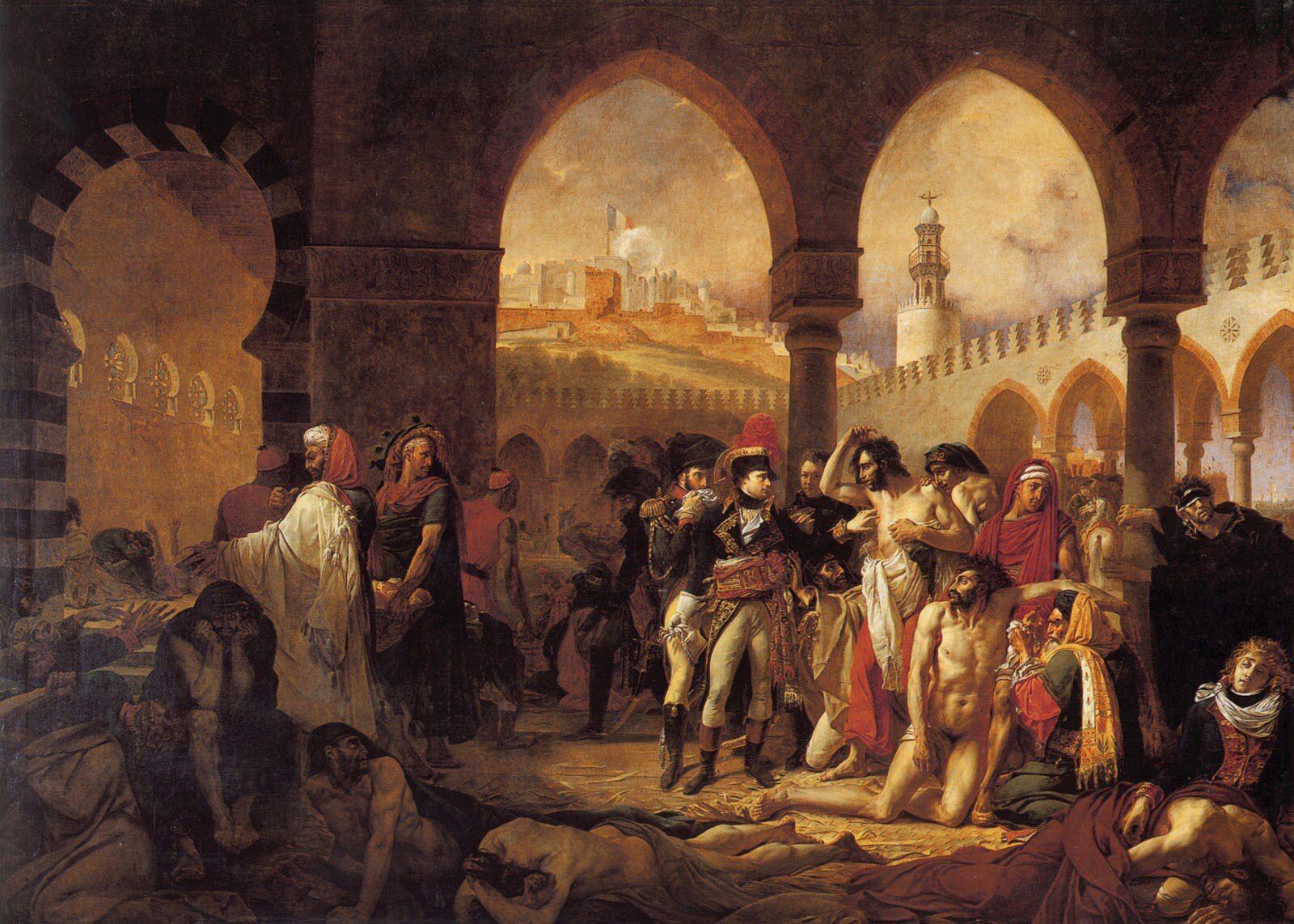Antoine Jean Gros Napoleone Visita Gli Appestati Di Jaffa 1804