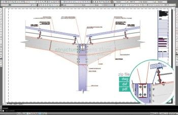 Double Span Steel Hangar Portal Frame Roof Valley Detail Roof Truss Design Roof Beam Roof Construction