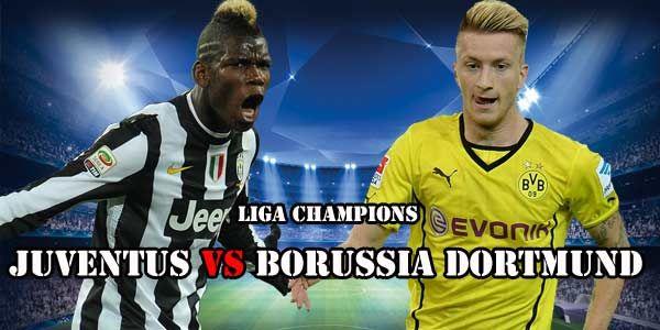 Skor Juventus Vs Borussia Dortmund di babak pertama tidak berubah , masih 2-1 untuk keunggulan Juventus.