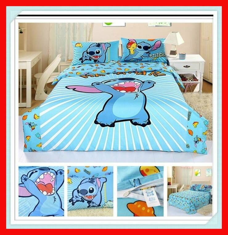 Decorate Your Room With These Lilo U0026 Stitch Bedding Sets   Perfect For Any  Lilo U0026 Stitch Fans!   Includes: 1 Duvet Cover, 1 Sheet And 2 Pillowcases  Limit 10 ...