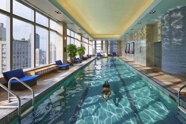 Dive In On Nyc Poolside Fun At These 8 Best Hotel Swimming Pools Hotel Swimming Pool New York Hotels Cool Swimming Pools