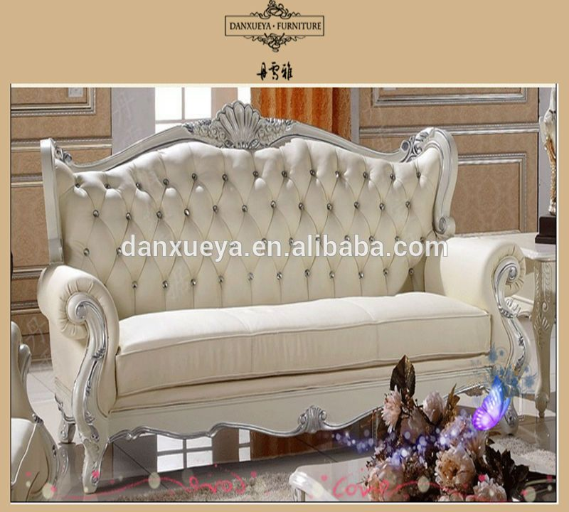 French Antique Gilded Furniture,Reproduction Victorian Sectional .