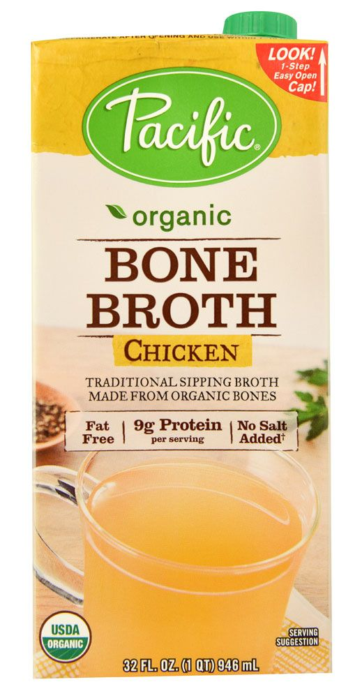 Pacific Natural Foods Organic Bone Broth Chicken Available At